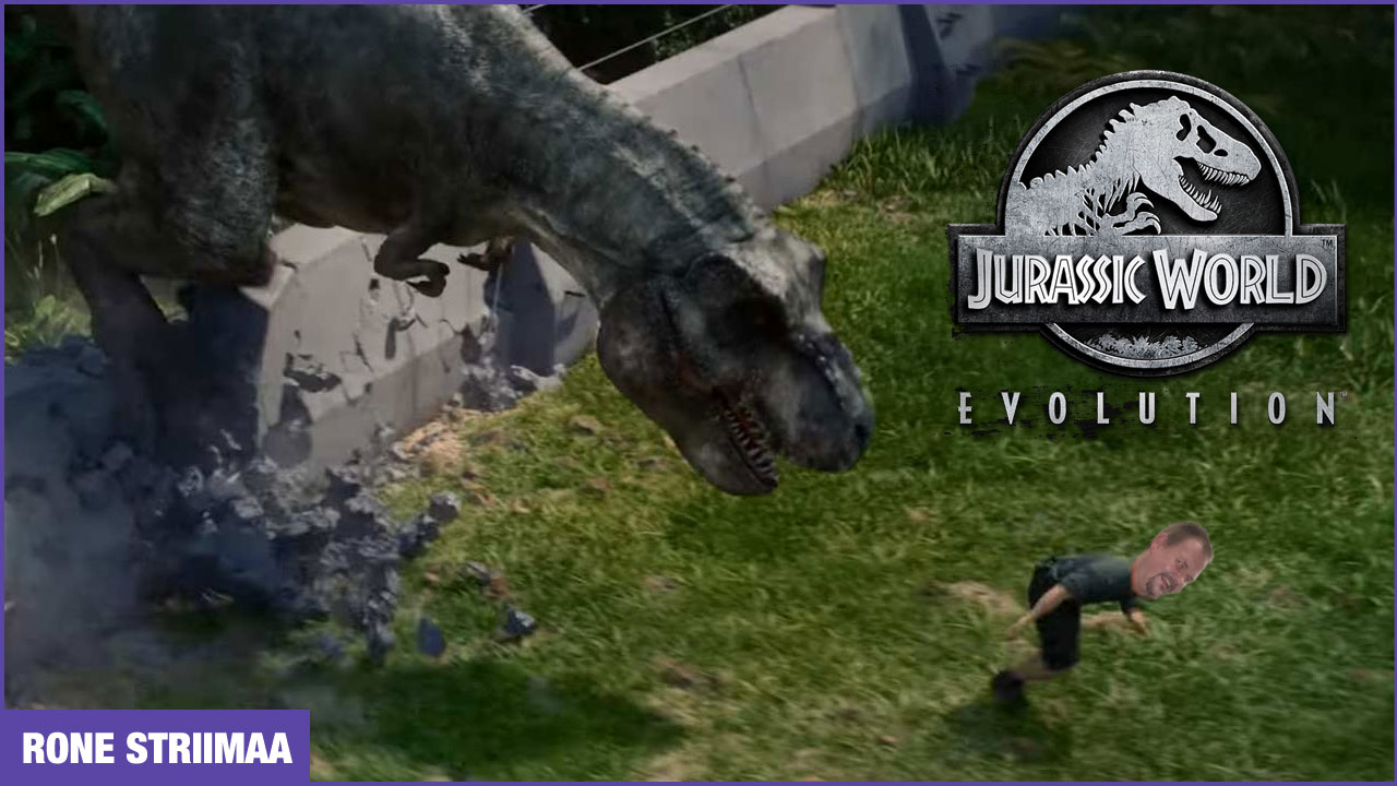 Jurassic Worlds Evolution ja Rone